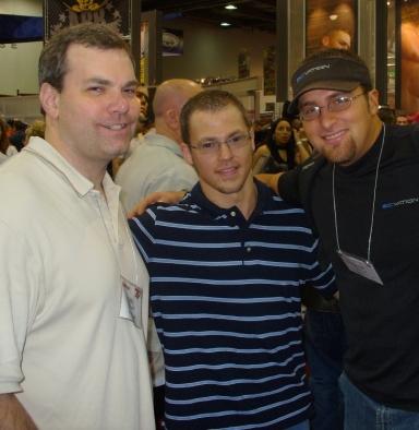 Dave Rosland, Myself, and Layne Norton - 2006 Arnold Classic